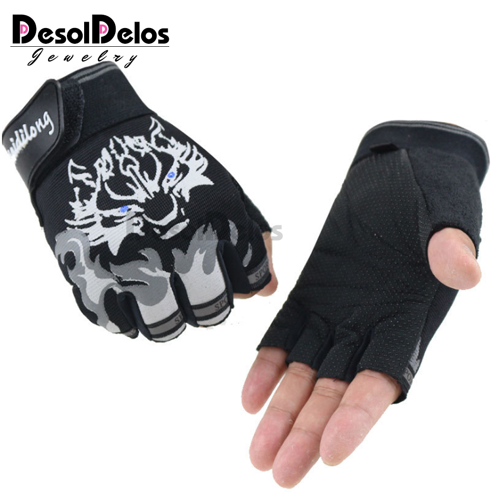 Hot Extreme Fingerless Sport Driving Biker Gloves Cycling