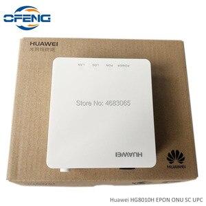 Image 2 - 50 pz nuovissimo Huawei HG8010H ont GPON ONU 1G SC UPC firmware apparecchiature di comunicazione ottica con adattatore di alimentazione, senza scatola