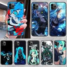 Cute Miku Anime Hatsune Phone Case Cover Hull For iphone 5 5s se 2 6 6s 7 8 12 mini plus