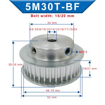 Koło rozrządu 5M-30T otwór 6 6 35 8 10 12 12 7 14 15 16 17 19 20mm szerokość koła pasowego 16 21mm dla szerokości 15 20mm 5m-pasek rozrządu tanie i dobre opinie CN (pochodzenie) STOP 5M30T 5 mm BF shape 6 6 35 8 10 12 14 15 16 17 19 20 mm 16 21 mm 15 20 mm