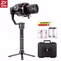 מצלמה קנון Zhiyun קריין פלוס 3 gimbal כף יד הציר מייצב 2.5kg 5.5lb Payload עבור סוני פנסוניק קנון ניקון Dsrl מצלמה (1)