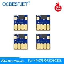 VB.2 Newest ARC Chip For HP 973 973X 973XL CISS Auto Reset Chip For HP PageWide Pro 352dw 377dw 452dn 452dw 477dn 477dw 552dw