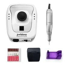 Perceuse électrique pour ongles 35000/20000 tr/min, manucure pédicure avec 6 fraises, Kit de mèches pour manucure et accessoires