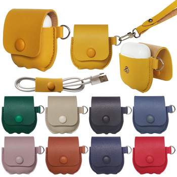 Multi-Colored Leather Case For Airpods Pro