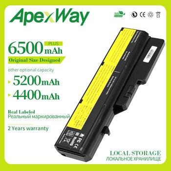 Apexway 11.1V  Laptop battery for Lenovo L09S6Y02 LO9L6Y02 for IdeaPad G460 G465 G470 G475 G560 G565 G570 G575 G770 Z460 genuine battery for lenovo ideapad u460 u460a l09c8y22 l09n8y22 l09n8t22