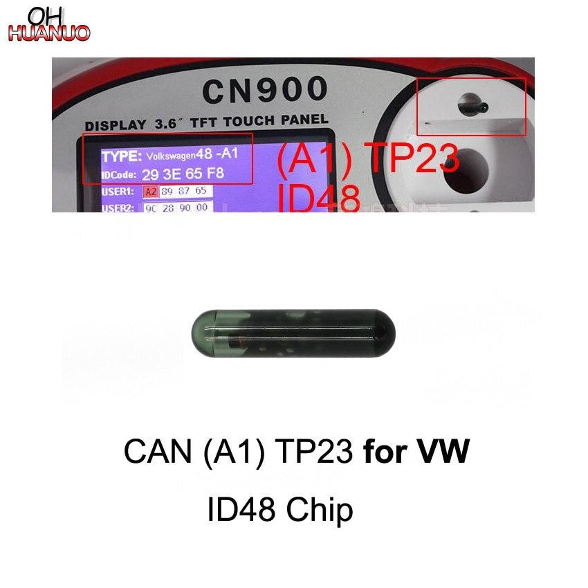 Volkswagen VW Eos 2006-2014 CAN OEM Megamos ID48 TP23 Glass Transponder Chip