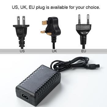 Cargador de adaptador de corriente de Scooter eléctrico para coche, cargador de enchufe AU/US/UE/UK para Xiaomi/Segway/Swegway/Hoverboard