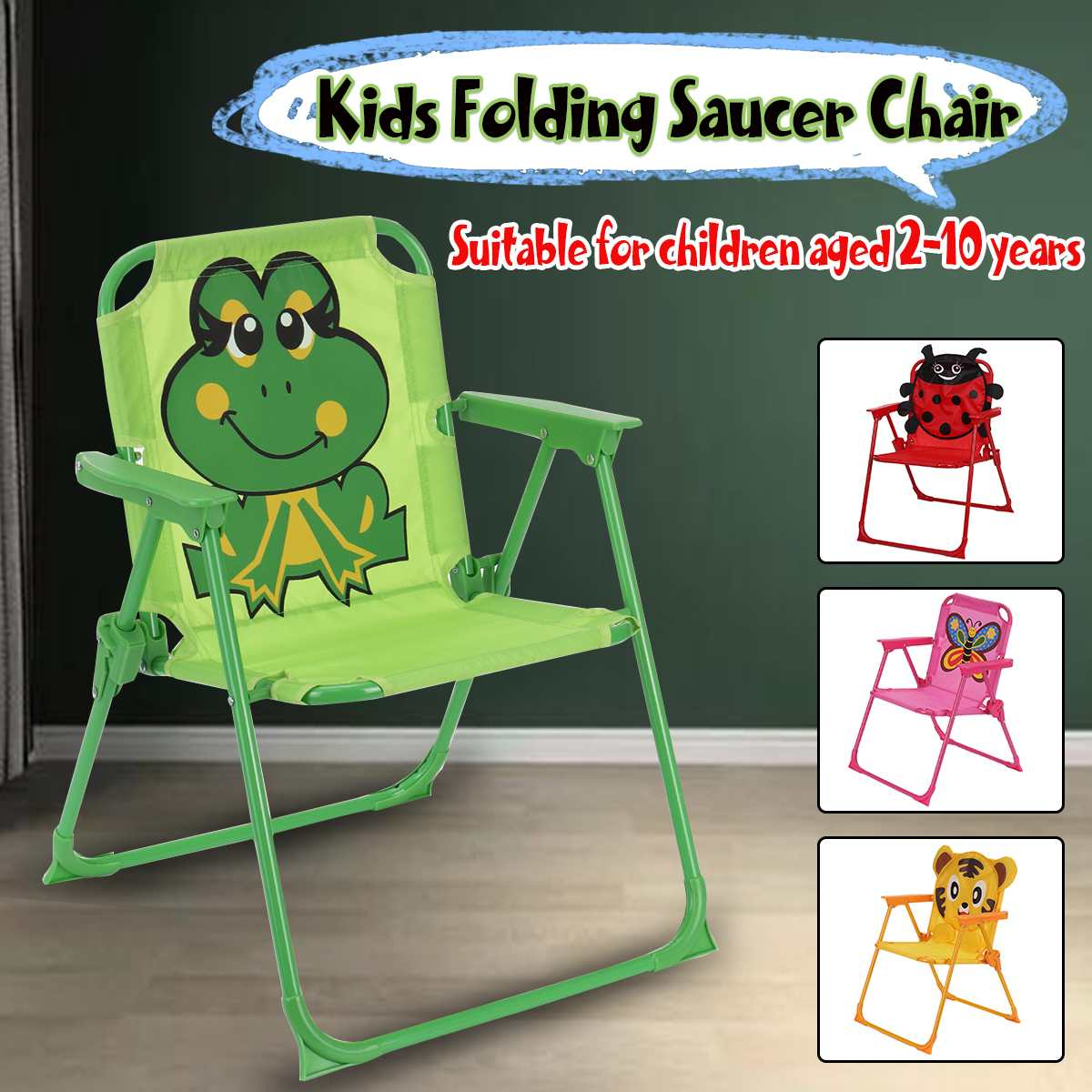 Outdoor Camping Chair Kids Portable Folding Camping Seat for Fishing Festival Picnic BBQ Beach Ultralight Chair