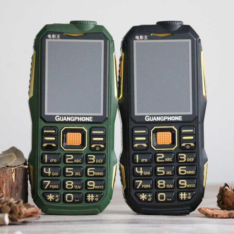 Long Standby Outdoor Rugged Cell Phone Big Power SOS Dial Black List Large Keyboard Flashlight Whatsapp Dual Sime Loud Sound