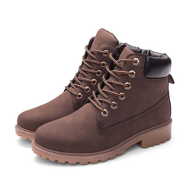 Unisex Men Boots Winter Shoes Warm Ankle Boots Men Winter Boots Snow Boots Men Winter Boots Footwear Fashion Mens Shoes Winter