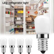1Pcs 3W E14 LED Refrigerator Light Bulb Fridge Corn Bulb Replace AC LED SMD2835 Light White/Warm White Bulb 220V Halogen R5E8