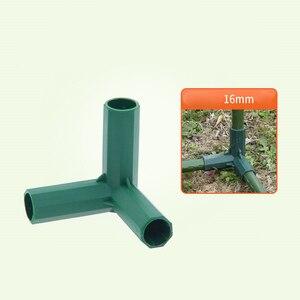 Image 5 - Plant Luifel Connector Pijler Fittings Plastic Staal Pijp Wijnstok Frame Kas Beugel Montage Aansluiten Onderdelen Tuingereedschap