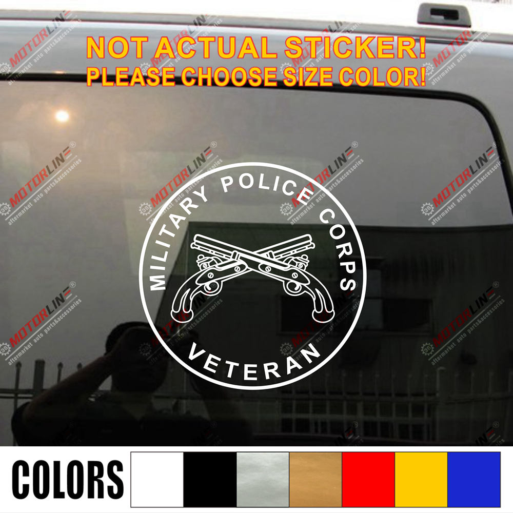 "police officer cops 6.5/"" HANDCUFFS vinyl decal car truck window laptop sticker"