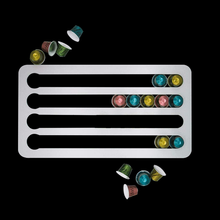Подставка для капсул Nespresso, вращающаяся стойка для кофейных капсул, вращающаяся стойка для кофейных капсул, полки для хранения капсул Nespresso, ...