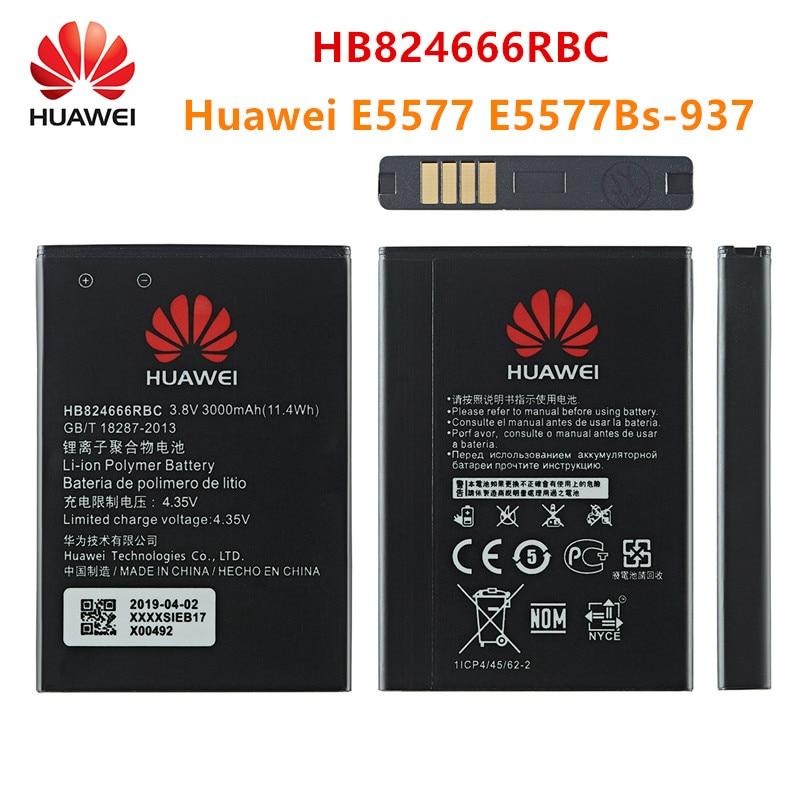 100% Orginal HB824666RBC Battery 3000mAh For Huawei Huawei E5577 E5577Bs-937 Mobile Phone HB824666RBC