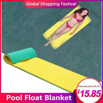 170x55CM Pool Float Water Blanket XPE Material Water Hammock Floating Mat For Sunbathing Water Games Sports Picnics