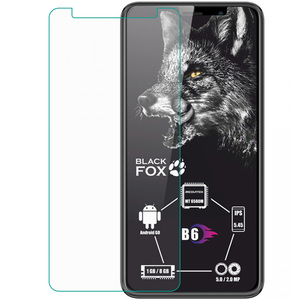 Tempered Glass For Black Fox B6 BMM531D BMM 531D GLASS Protective Film Explosion-proof Screen Protector Phone cover(China)
