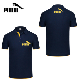 Men Knitted Polo Shirt Contrast Color Short Sleeve Turn-down Neck Top Breathable Plus Size Sport Men's Polo Tee Men's Clothing & Accessories