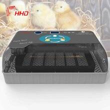 Hhd melhor incubadora de ovos automático chocadeira fazenda pintainho máquina incubadora de ovos digital 4-35 para codorna de galinha de ganso