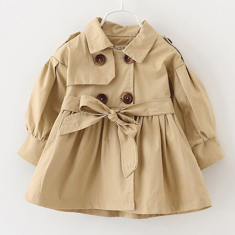 2019 jaqueta criancas meninas primavera outono nova jaqueta de bebe menina blusao paragrafo longo criancas