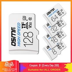 Z330 TF флеш-карта, Micro SD карта, класс 10, 8 Гб оперативной памяти, 16 Гб встроенной памяти, 32 ГБ высокоскоростной U3 A1 V30 64 Гб 128 стандарт gb карты