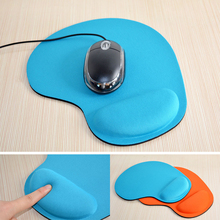 Mouse Pad With Wrist Rest For Laptop Mat Anti-Slip Gel Wrist Support for PC Macbook Laptop Computer EVA Wristband Mouse Pad