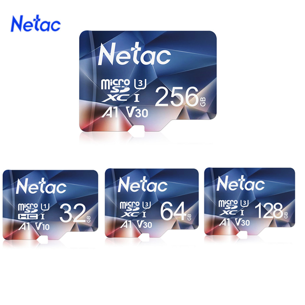 Netac P500 Micro SD Card 32GB 64GB  SD/TF Flash Card Memory Card U3 V30 Class 10 TF Card MicroSD for Phone Camera free shipping|Memory Cards| |  - title=