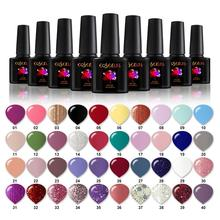 COSCELIA UV Gel Nail Polish Set 40pcs/Set Soak Off Painting Gel For Nail Varnishes Permanent Nail Polish All For Nail Art Set