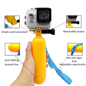 Image 5 - อุปกรณ์เสริมขาตั้งกล้อง Monopod Floating bobber หัวนาฬิกาข้อมือสำหรับ GoPro HERO 7 6 5 Xiaomi Yi 4K SJCAM