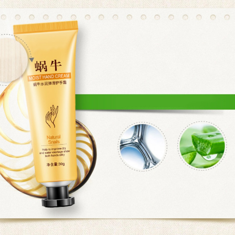 Horse Oil Snake Goat Milk Snails Aloe Vera Hand Cream Moisturizing Nourishing Skin Anti-Crack  Care