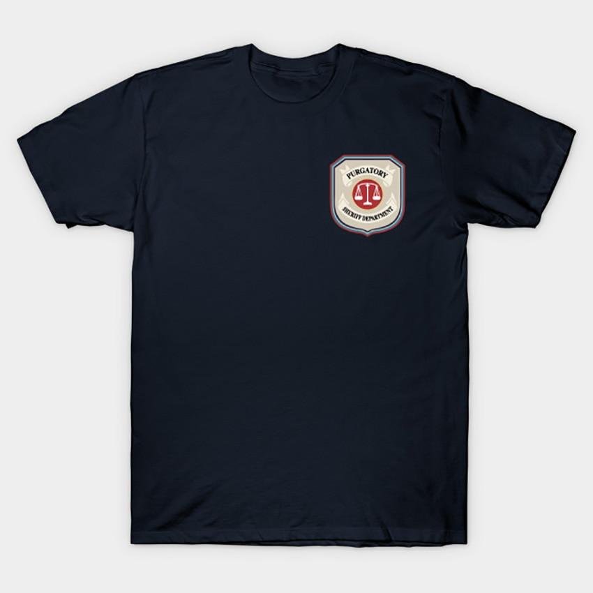 Image 5 - Purgatory Sheriff Department T Shirt Wynonna Earp T Shirt wynonna earp tv series doc holliday purgatory pride wayhaught wearpT-Shirts   -