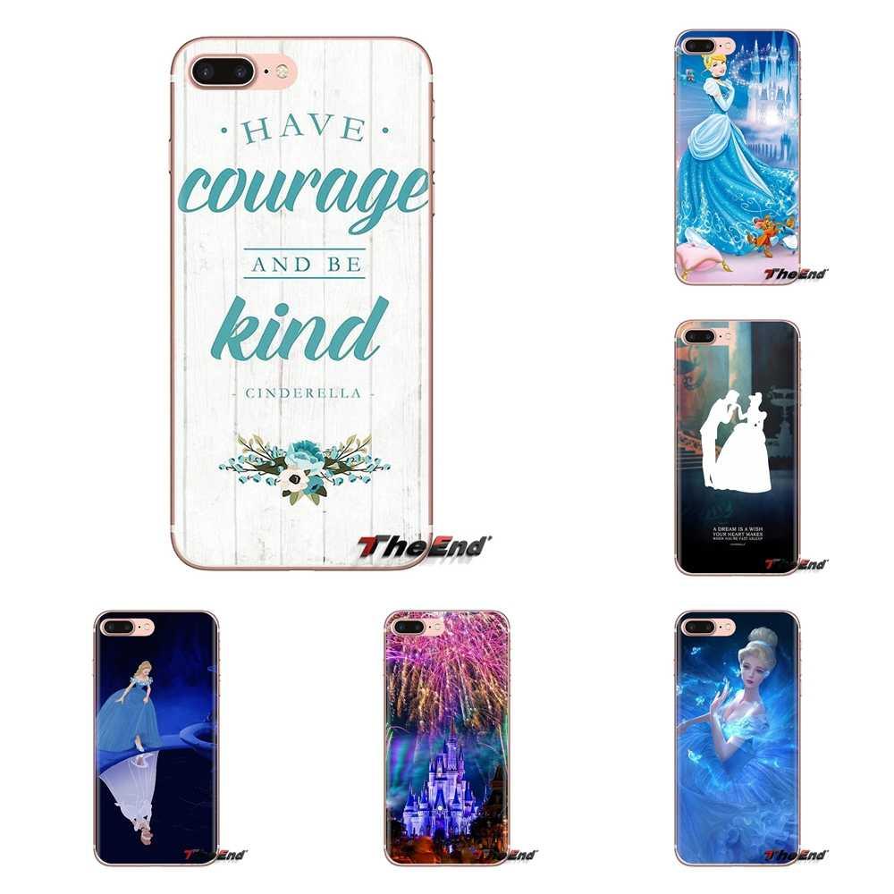 Voor Xiaomi Redmi 4A S2 Note 3 3S 4 4X5 Plus 6 7 6A Pro Pocophone F1 zachte Transparante Shell Case Cinderella Glass Slipper Kasteel