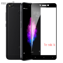 3D Full Cover Tempered Glass For Xiaomi Redmi 4X For Redmi 4X Screen Protector Toughened Film makibes toughened glass 0 33mm screen protector film cover arc edge for asus zenfone 2 5 0inch