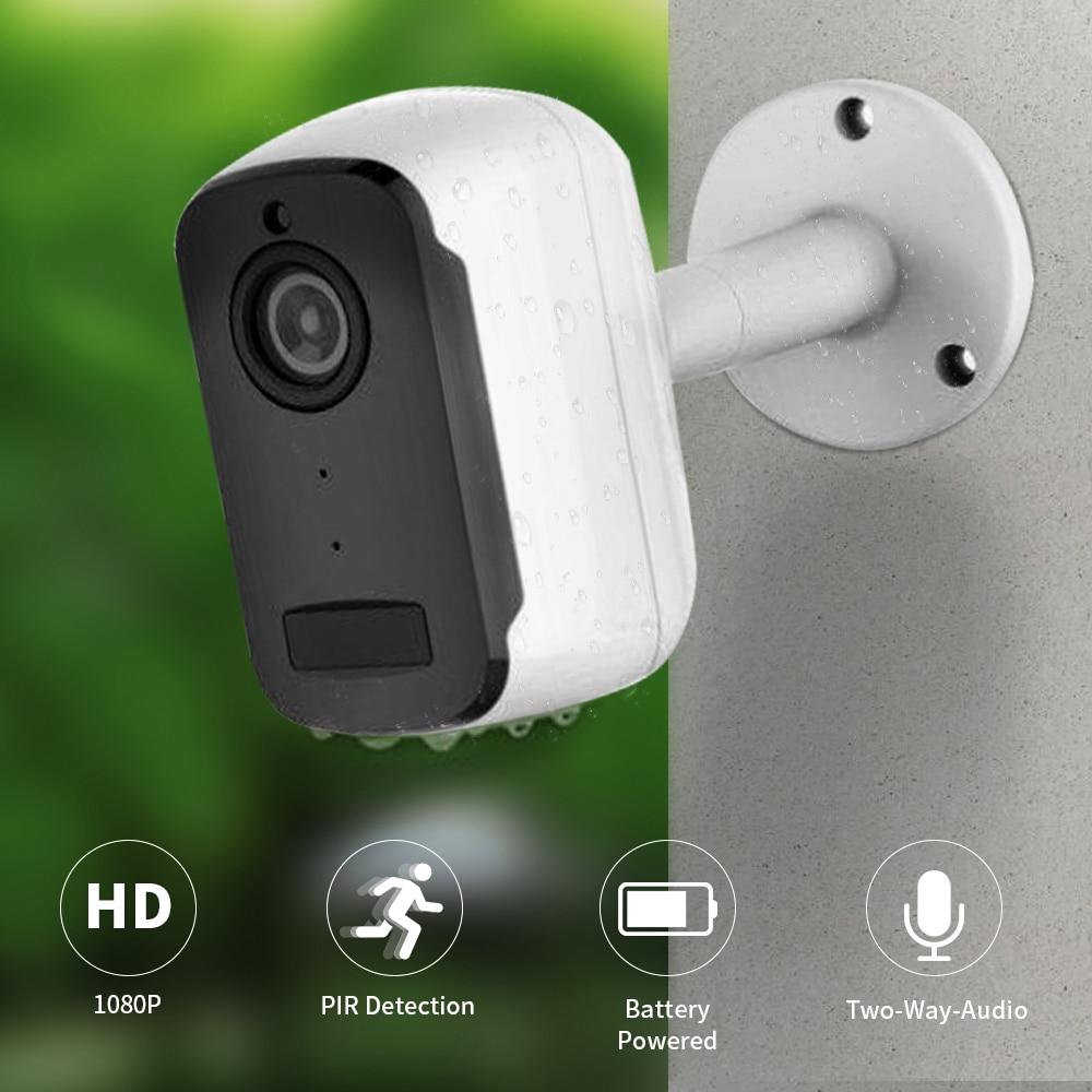 SDETER 1080P Rechargeable Battery Security Camera IP Wifi Camera Outdoor IP65 Weatherproof Indoor CCTV PIR Motion Alarm P2P CAM