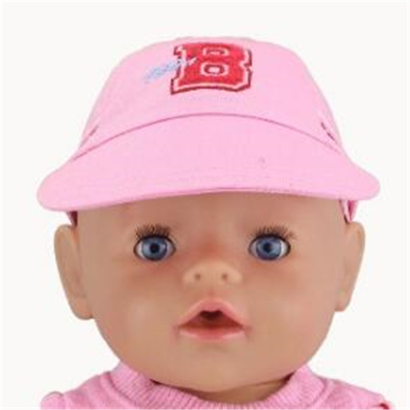 6 Styles Choose Hat Doll Clothes Wear Fit 43cm Children Best Birthday Little Gift