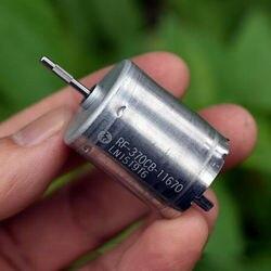 MABUCHI RF 370CB 11670 szlachetna szczotka metalowa silnik DC 12V 24V 6000RPM DIY zabawka samochód|Silnik prądu stałego|Majsterkowanie -