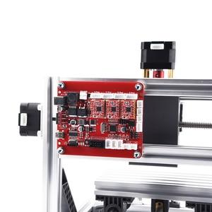 Image 5 - CNC 1610 cnc makinesi ahşap router lazer oyma makinesi 3 eksen PCB akrilik PVC mini router GRBL kontrolü