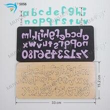 Set letter S056 DIY neue holz form schneiden stirbt für scrapbooking Dicke/15,8mm