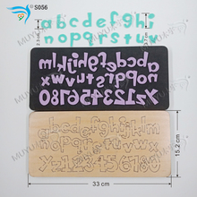 Set letter S056 DIY new wooden mould cutting dies for scrapbooking Thickness/15.8mm