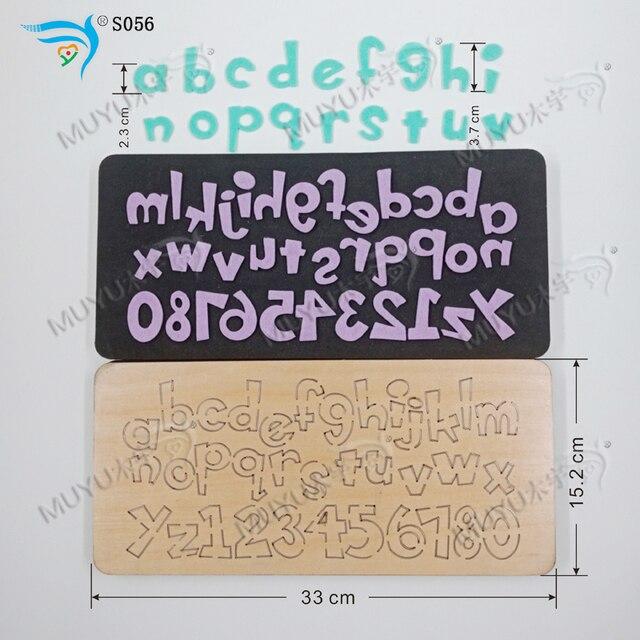 セットletter S056 diy新木製金型切削ダイススクラップブッキング用厚さ/15.8ミリメートル