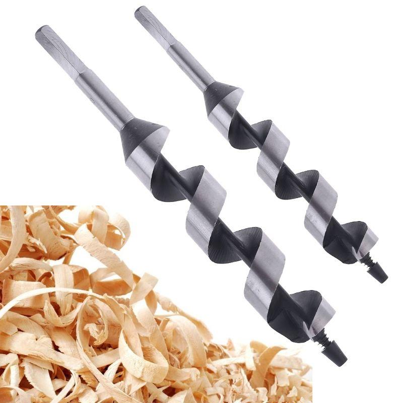 230mm Length Hex Shaft Threaded Tip Wood Cutting 30mm Diameter Auger Drill Bit