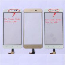 5,5 ''сенсорная панель для Xiaomi Redmi Примечание 5A 16 GB/5A Prime 32GB сенсорный экран дигитайзер сенсорная стеклянная панель объектива