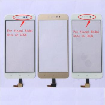5.5'' Touch Screen Panel For Xiaomi Redmi Note 5A 16GB / 5A Prime 32GB Touch Screen Digitizer Sensor Glass Lens Panel