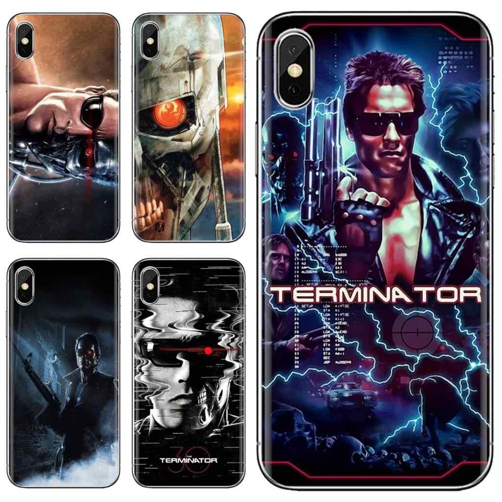 Couverture souple Terminator Genesis je serai de retour Slade pour iPhone 11 Pro 4 4S 5 5S SE 5C 6 6S 7 8X10 XR XS Plus Max pour iPod Touch