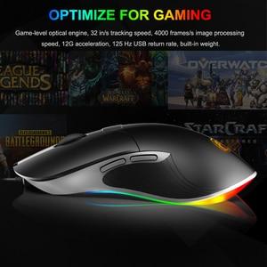 Image 5 - Imice X6 Hohe konfiguration USB Wired Gaming Maus Computer Gamer 6400 DPI Optische Mäuse für Laptop PC Spiel Maus upgrade x7