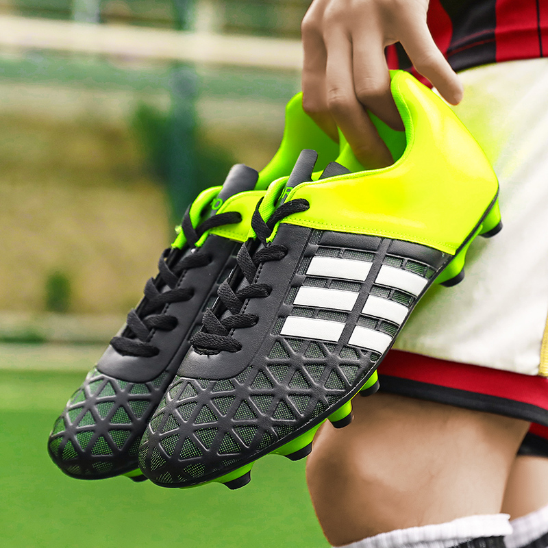 Kids Boy Girls  Soccer  Shoes   Football Shoes Sneakers Turf Futsal Original Football Boots Comfortable Waterproof