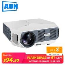 Aon ET HD мини-проектор, 1280x720 P, видео-проектор. 3800 Яркость. 3D Кино. Поддержка 1080 P, HD-IN, USB(опционально версия Android
