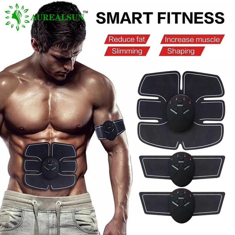 Persevering Ems Massage Hip Muscle Stimulator Fitness Lifting Buttock Abdominal Trainer Abs Stimulator Masajeador Celulitis Electrode Pads
