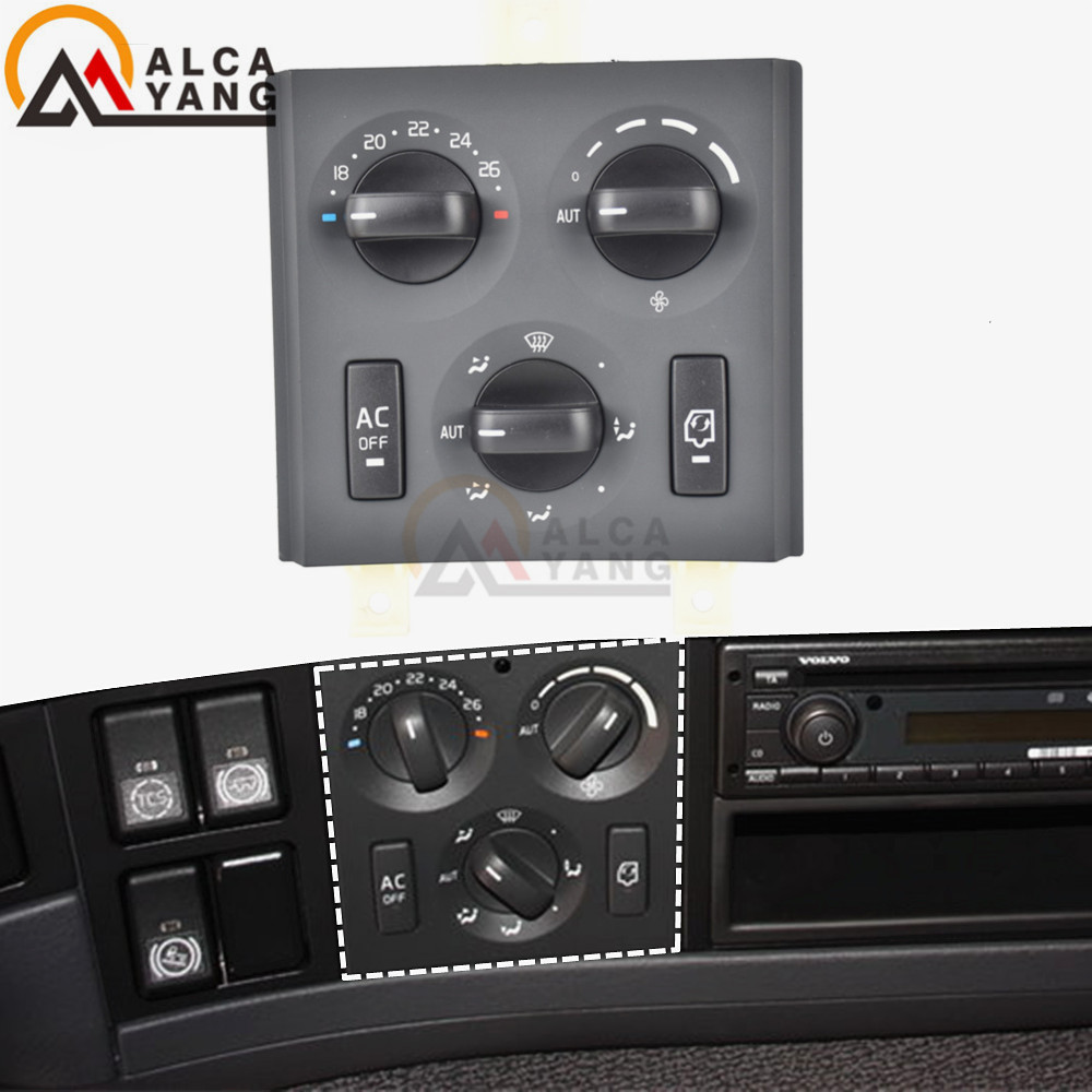 24V Switch Panel For Volvo Truck FM FH Combined Switches 85115380 20853478 21272395 21318123 20508582 Car Styling