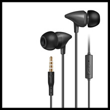 3.5mm Earbud Wired earphone In-ear Sport Headset With Mic Volume Control waterproof Music Gaming off